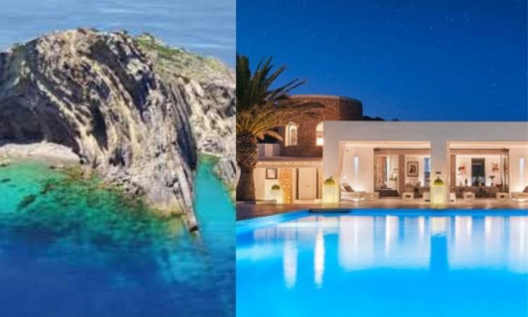 Ponen a la venta el islote más lujoso del Mediterráneo, por 150 millones de euros