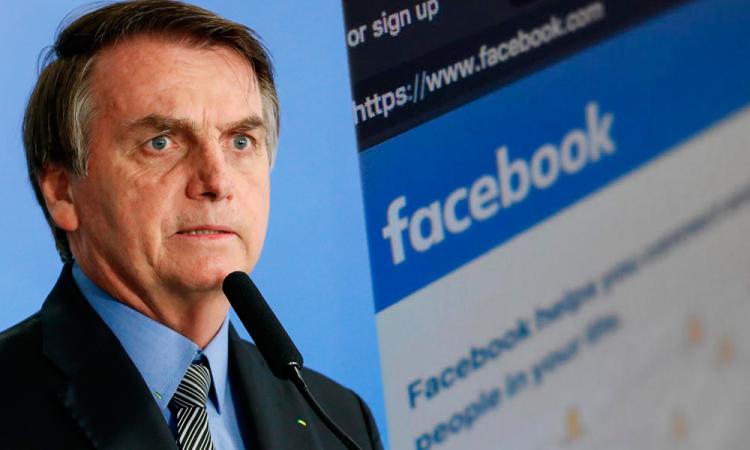 Obligan a Facebook a bloquear cuentas de partidarios de Bolsonaro