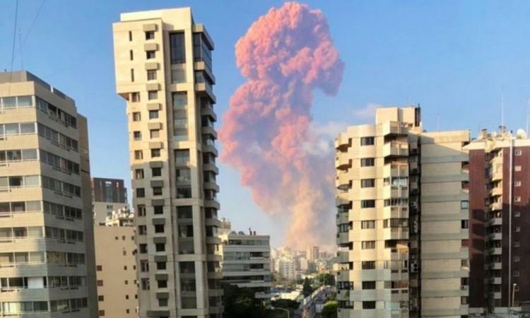 Gran explosión en capital de Líbano