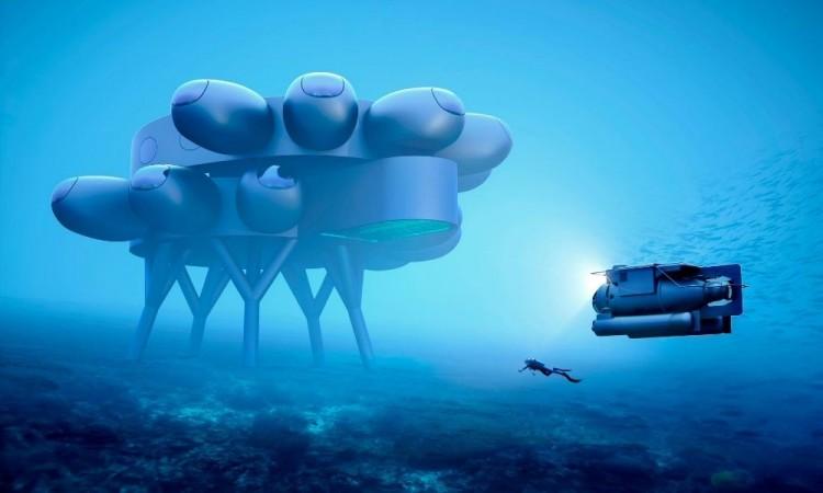 Fabien Cousteau prepara una estación internacional bajo el mar Caribe