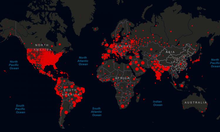 Los casos de COVID-19 superan los 26 millones a nivel mundial