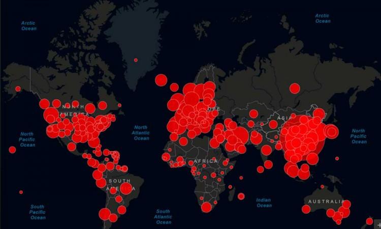 Covid-19 contagia a 27,4 millones en todo el mundo