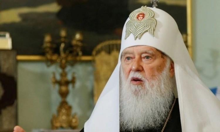 Contrajo coronavirus el líder de la Iglesia ortodoxa ucraniana