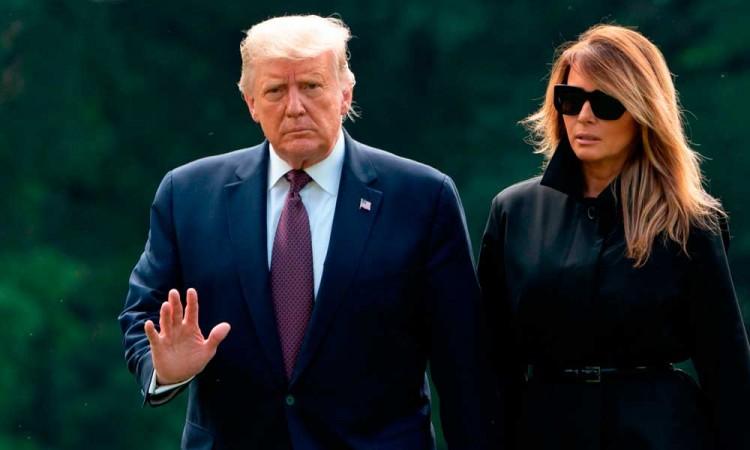 Estados Unidos suma 7,3 millones de casos de Covid-19, entre ellos Trump