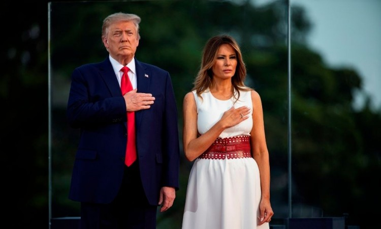 Trump y Melania dan positivo en coronavirus a un mes de las elecciones presidenciales