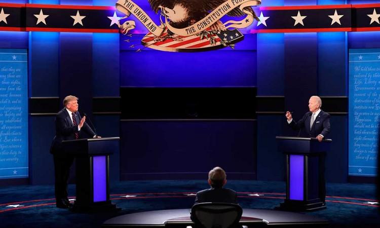 No querían Zoom: Cancelan segundo debate Trump vs Biden