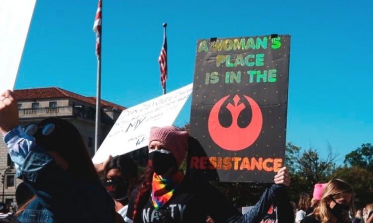 La manifestación principal tuvo lugar en Washington DC.