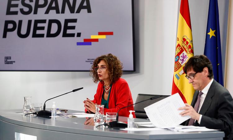 El Gobierno español estudiará aplicar un toque de queda con estado de alarma