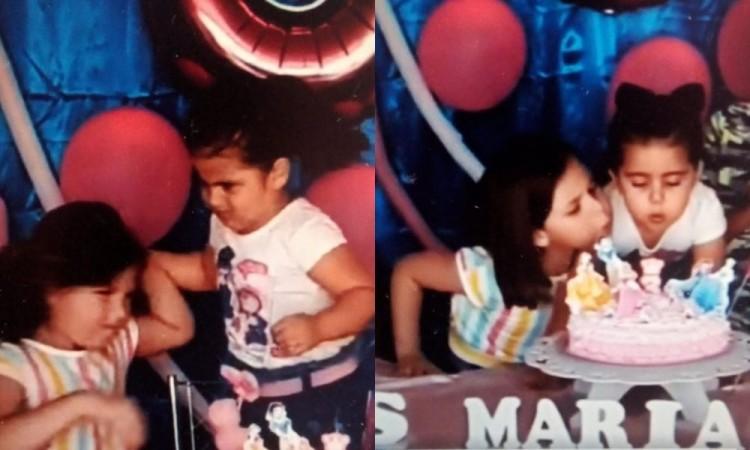 Historia del video viral de la niña que sopla la vela de cumpleaños de su hermana