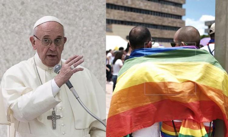Papa Francisco avala uniones civiles para personas homosexuales