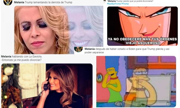 Victoria de Joe Biden desata los memes sobre Melania Trump