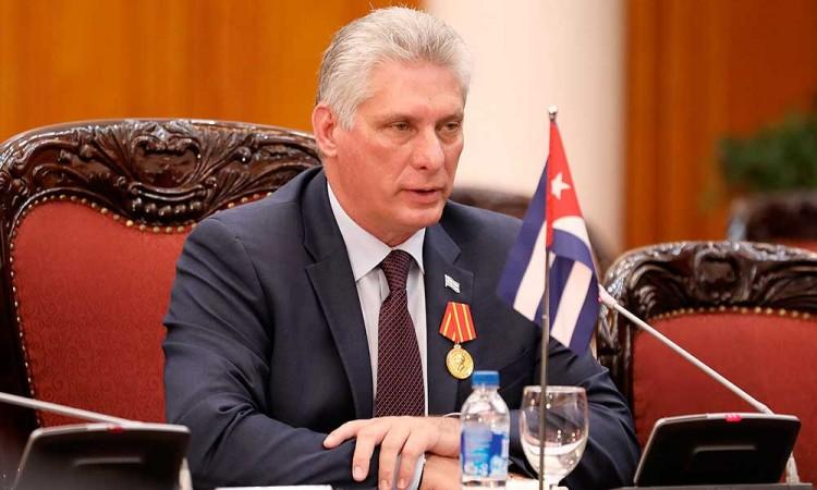 Presidente de Cuba felicita a Joe Biden por ganar elecciones