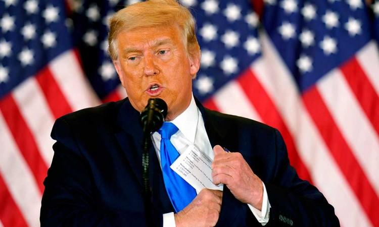 Trump reconoce victoria de Biden… pero acusa fraude sin pruebas