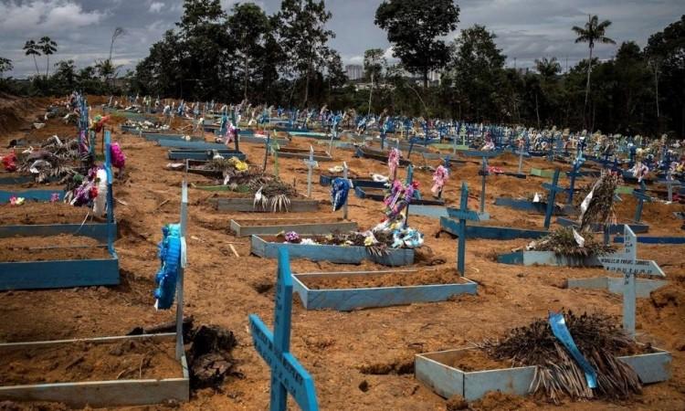 Brasil es segundo país del mundo con más muertos provocados por la crisis sanitaria.