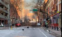 Policía cree haber encontrado restos humanos en explosión de Nashville