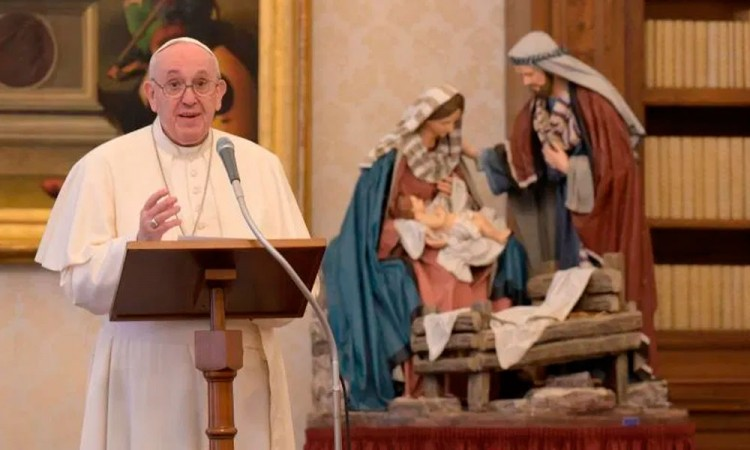 El papa pide paz y concordia en el 2021 para desterrar la indiferencia