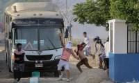 Manifestantes en Perú fueron heridos con armas de fuego