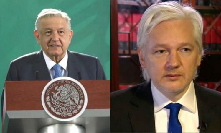 Gobierno de México ofrece asilo a Julian Assange, fundador de Wikileaks