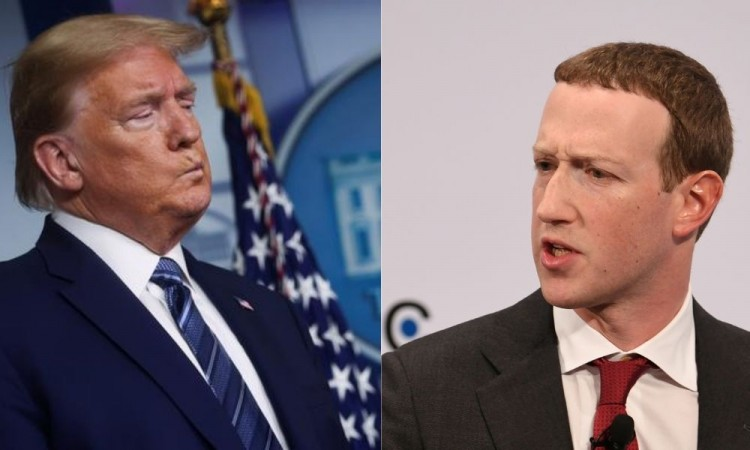 Mark Zuckerberg amplio bloqueo a Trump en Facebook e Instagram por toma del Capitolio