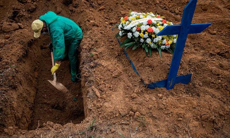 Brasil supera los 8 millones de contagios de covid en medio de segunda ola
