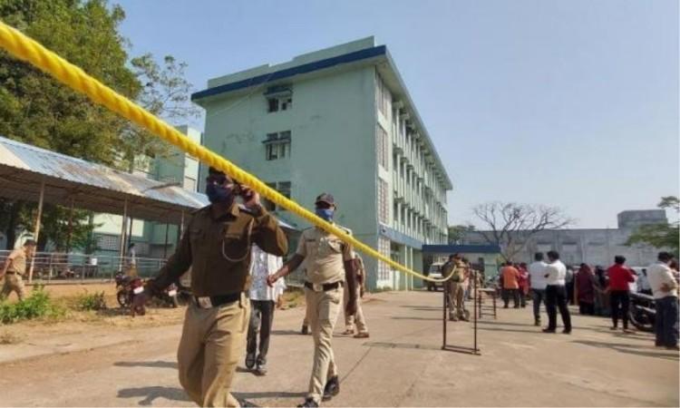 El hospital no contaba con un sistema adecuado de seguridad contra incendios.
