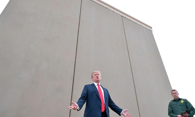 Examinará Donald Trump el muro de la frontera con México el martes