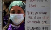Con marcha 'clandestina', reclaman derechos humanos en Nicaragua por Día de la Mujer