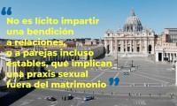 Vaticano no bendecirá uniones entre homosexuales, por no estar en los planes revelados de Dios