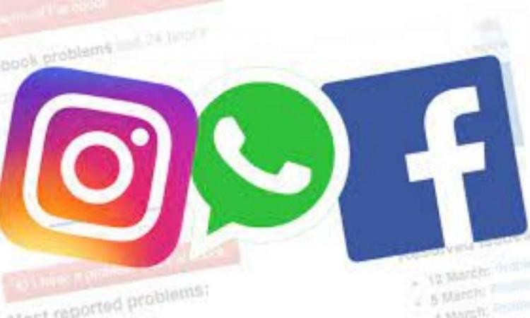 Whatsapp, Instagram y Facebook recuperan el servicio tras caída generalizada