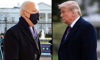 Trump acusa a Biden por 'crear un desastre nacional'