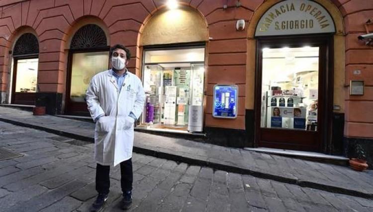 Génova, la primera ciudad italiana donde se puede vacunar en las farmacias