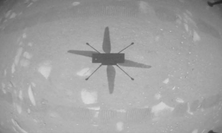 Helicóptero Ingenuity de la NASA hace historia al volar por primera vez a Marte
