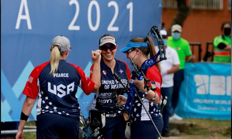Estados Unidos, México y Dinamarca ganan el oro en arco compuesto por equipos