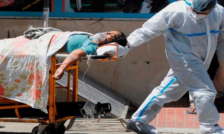 ¡Terror en la India! Supera los 18 millones de contagios por Covid-19