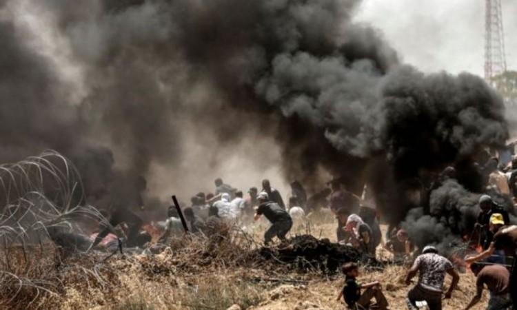 Continúan enfrentamientos entre palestinos y policía israelí