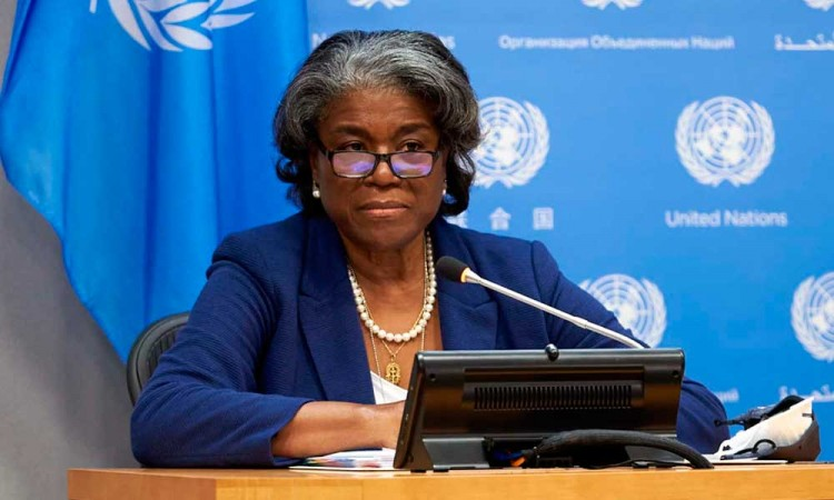 Estados Unidos asegura en la ONU que está listo para ayudar a Israel y Palestina si frenan las agresiones