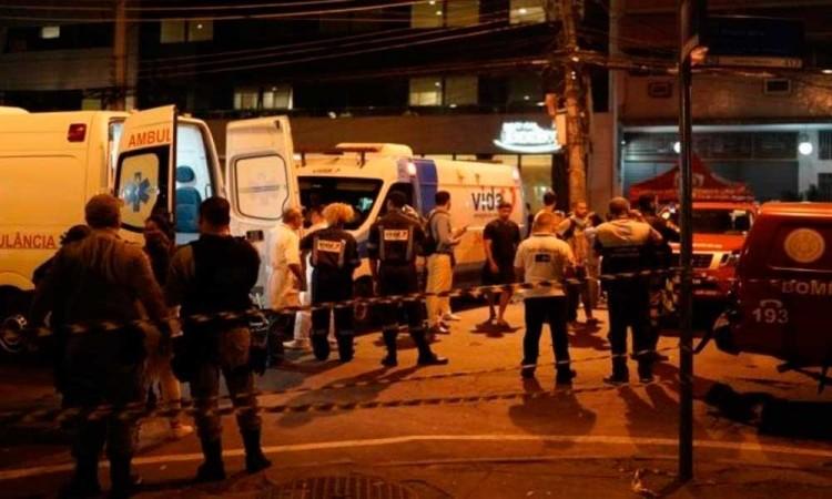 Brasil: Al menos cuatro muertos en incendio en ala para covid-19 de hospital