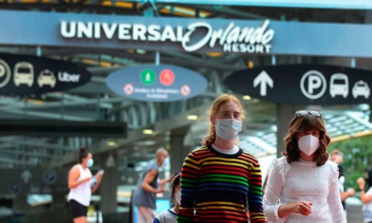 ¡Universal Orlando le dice adiós a las mascarillas!