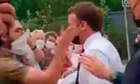 Condenan a cuatro meses de prisión al hombre que abofeteó a Emmanuel Macron