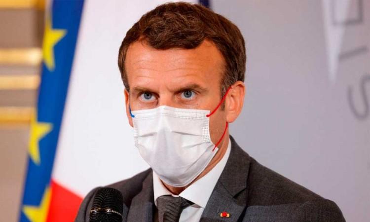 Macron pide a los laboratorios que donen el 10 por ciento de sus vacunas contra la covid a países pobres