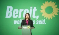 """Tijanóvskaya pide apoyo alemán """"contra el dictador"""" desde el congreso verde"""