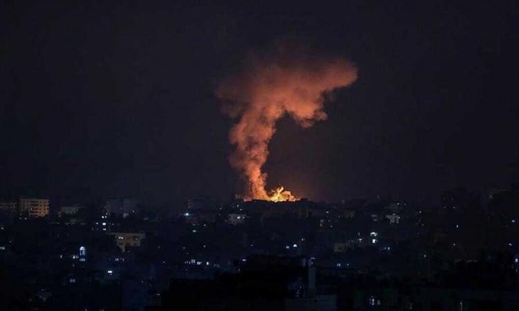 Israel ataca nuevamente en Gaza provocando solo daños materiales