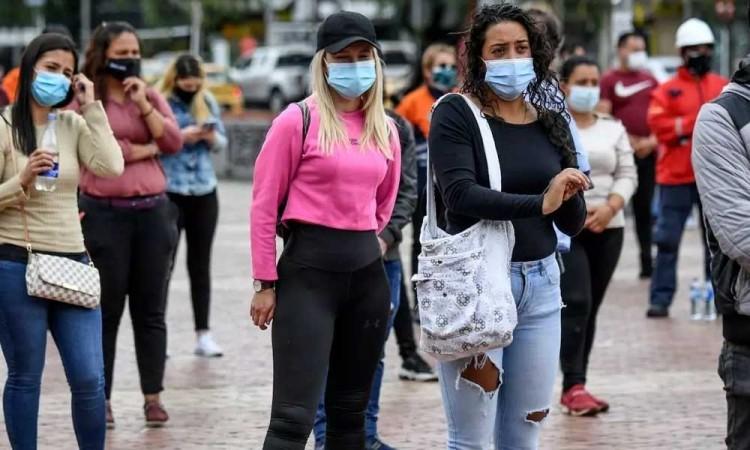 Colombia registra las cifras más altas de infecciones y muertes por covid-19