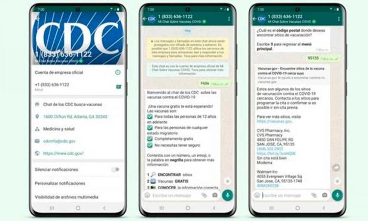 EU se alía con WhatsApp y habilita chat para promover la vacunación contra Covid-19 entre latinos