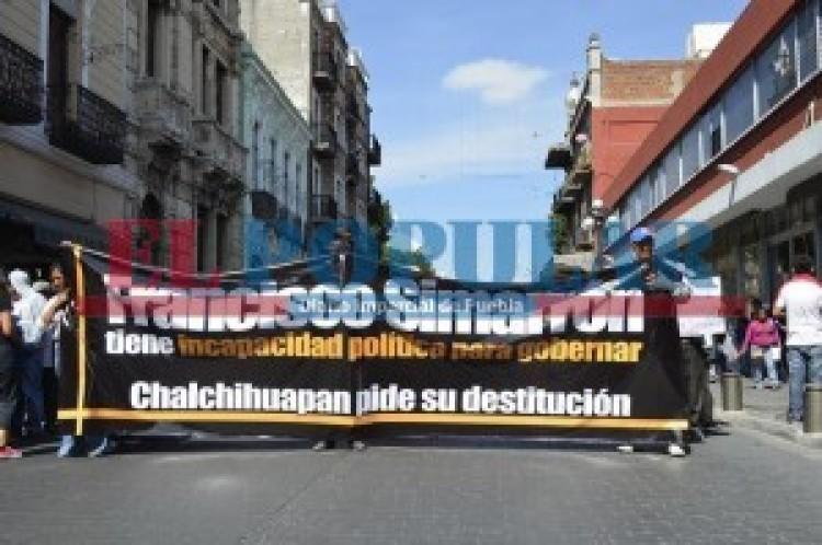 Edil de Ocoyucan provoca violencia