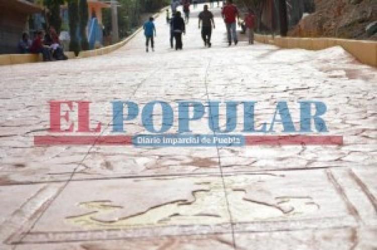 Antorcha entrega más calles en la mixteca