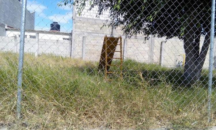 Gimnasios al aire libre, abandonados