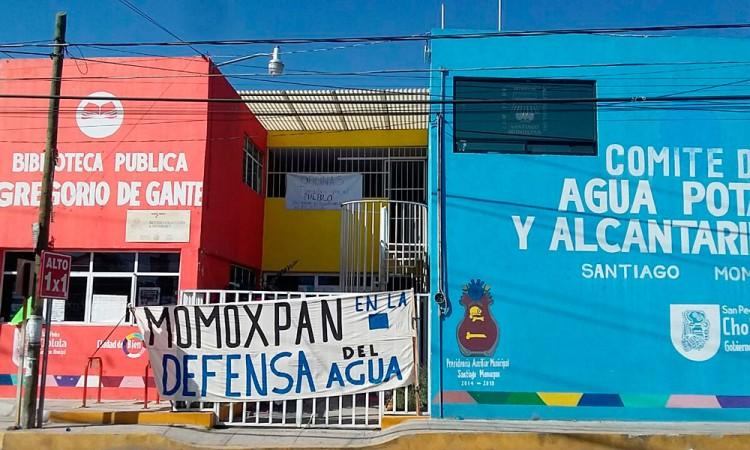 Recuperan ciudadanos de Momoxpan control de agua