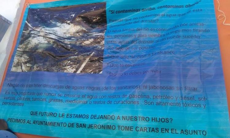 Acusan mal estado de planta tratadora en Xayacatlán