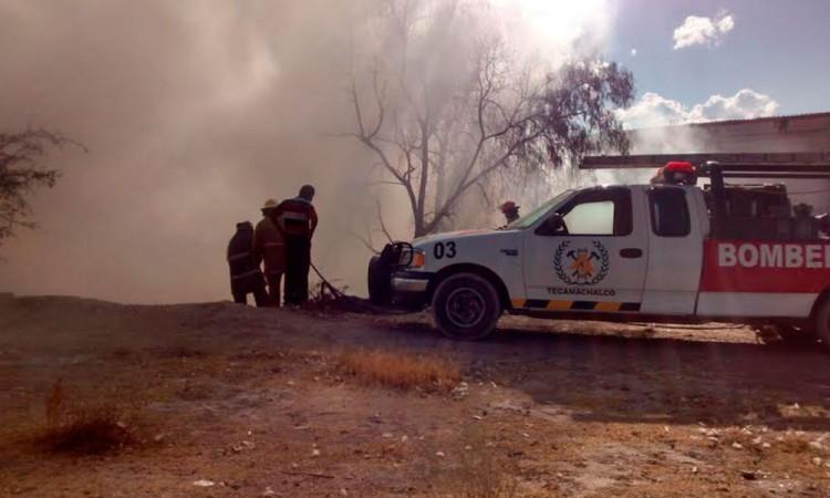 Atienden bomberos de Teca 650 emergencias al año